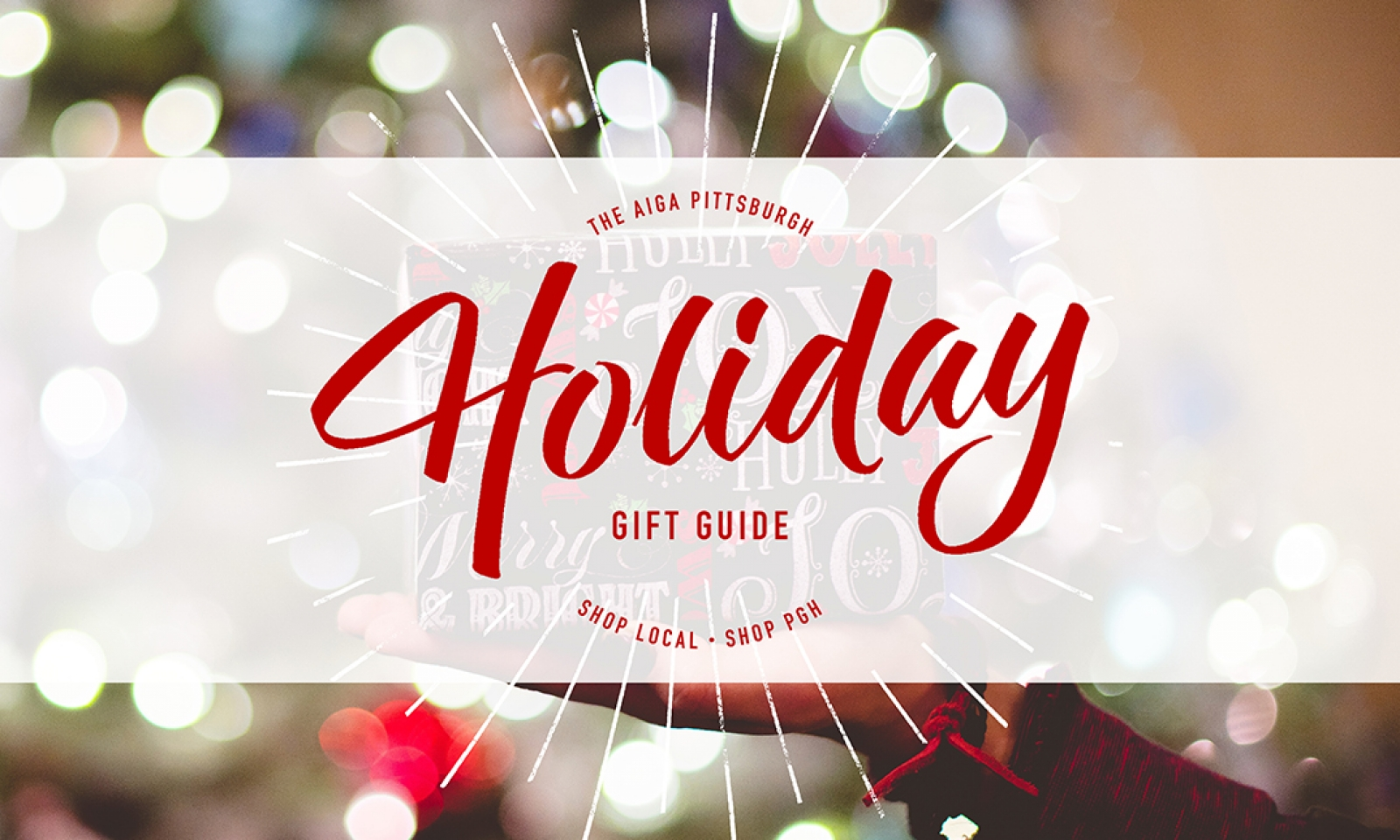 AIGA Pittsburgh Holiday Gift Guide | AIGA Pittsburgh